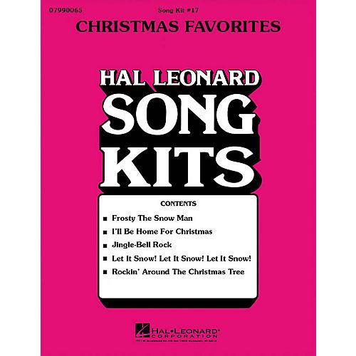 Hal Leonard Christmas Favorites (Song Kit #17) UNIS/2PT Arranged by Dick Averre