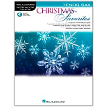 Hal Leonard Christmas Favorites for Tenor Sax - Instrumental Play Along Book/Audio Online