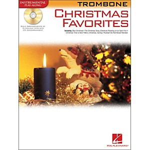 Hal Leonard Christmas Favorites for Trombone Book/CD Instrumental Play-Alon... by Hal Leonard