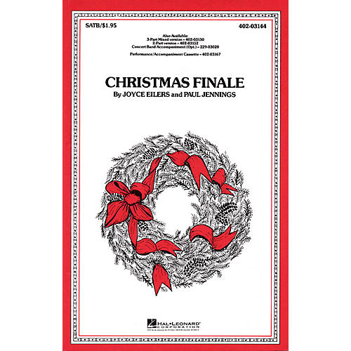 Hal Leonard Christmas Finale SATB arranged by Paul Jennings