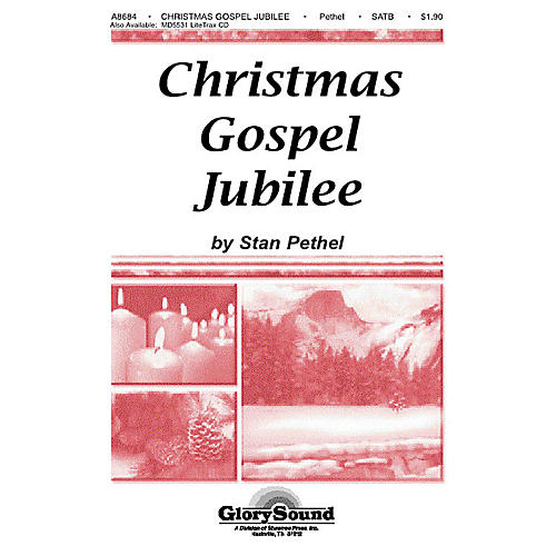 Shawnee Press Christmas Gospel Jubilee SATB composed by Stan Pethel
