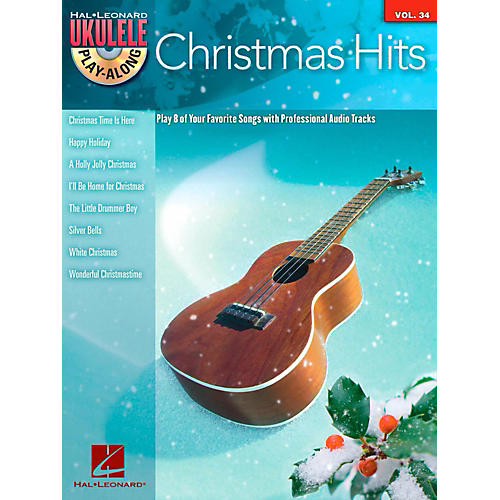 Hal Leonard Christmas Hits - Ukulele Play-Along Series Vol. 34 Book/CD