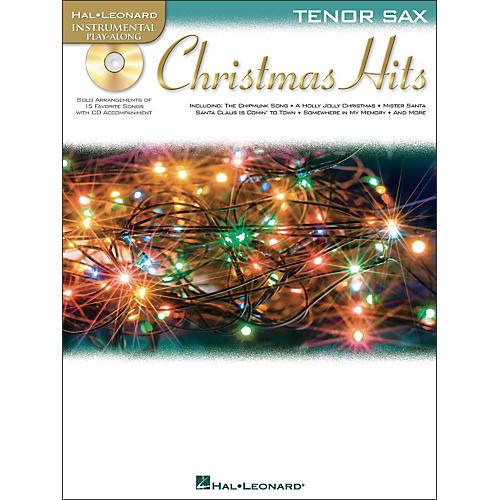 Hal Leonard Christmas Hits for Tenor Sax - Instrumental Play-Along Book/CD Pkg