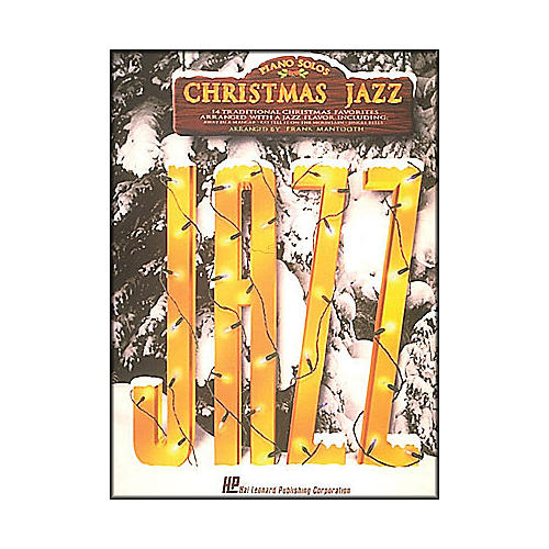 Hal Leonard Christmas Jazz arranged for piano solo