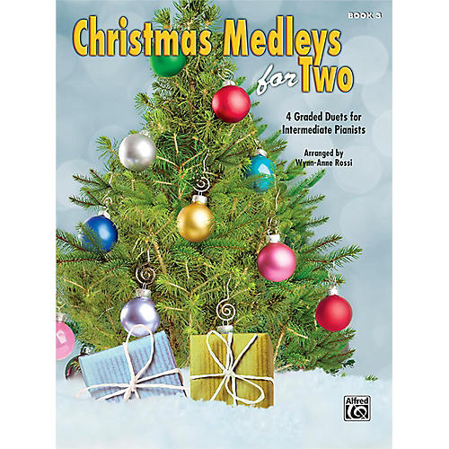 Alfred Christmas Medleys for Two, Book 3 Intermediate