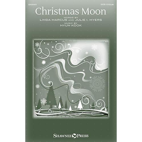 Shawnee Press Christmas Moon SATB composed by Hyun Kook