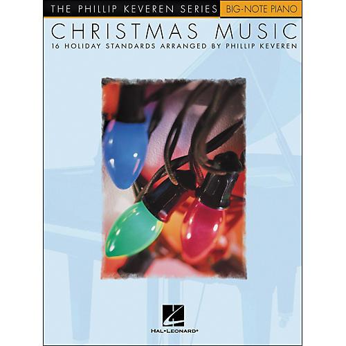 Hal Leonard Christmas Music - Phillip Keveren Series for Big Note Piano
