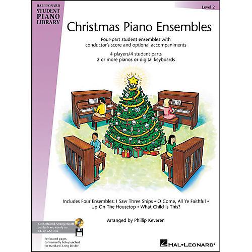 Hal Leonard Christmas Piano Ensembles Level 2 Hal Leonard Student Piano Library by Phillip Keveren