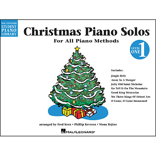 Hal Leonard Christmas Piano Solos Book 1 Hal Leonard Student Piano Library