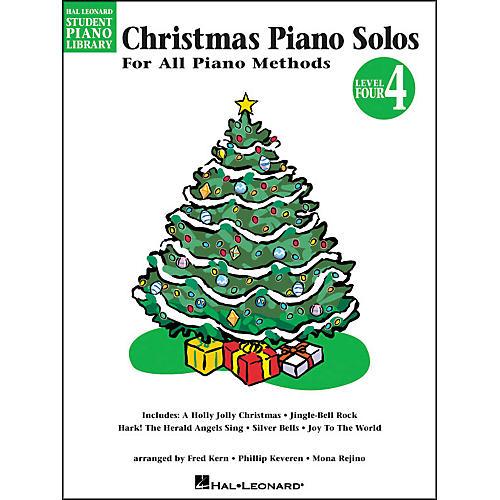 Hal Leonard Christmas Piano Solos Book 4 Hal Leonard Student Piano Library