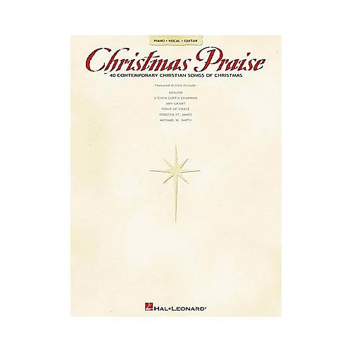 Hal Leonard Christmas Praise Piano, Vocal, Guitar Songbook