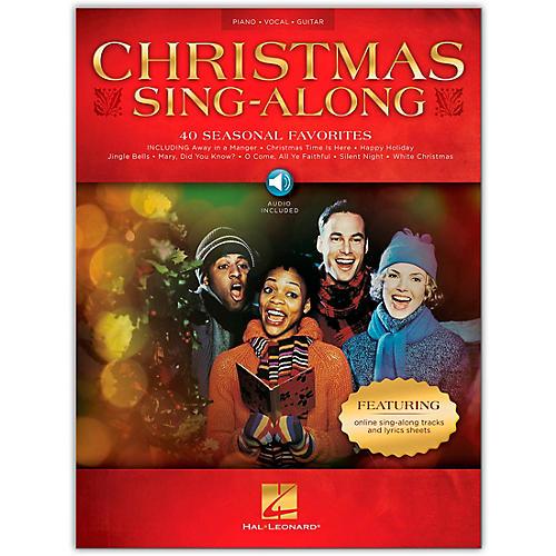 Hal Leonard Christmas Sing-Along Piano/Vocal/Guitar Book/Audio Online