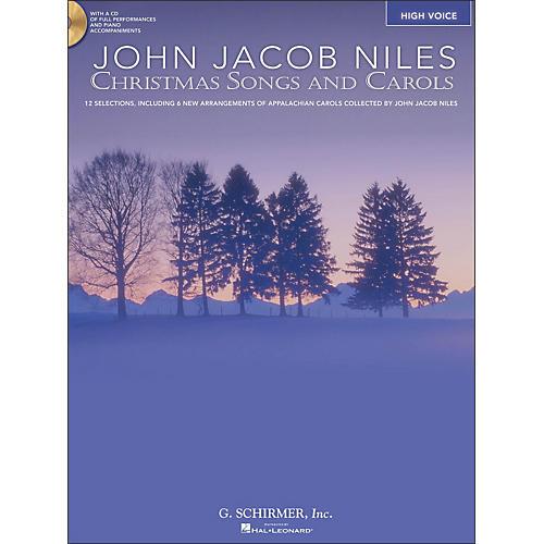 Hal Leonard Christmas Songs And Carols for High Voice Book/CD