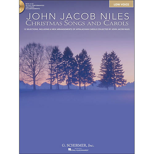 Hal Leonard Christmas Songs And Carols for Low Voice Book/CD