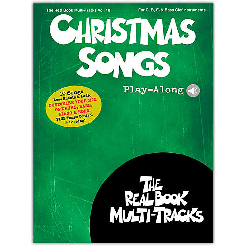 Hal Leonard Christmas Songs Play-Along Real Book Multi-Tracks Volume 10 Book/Audio Online