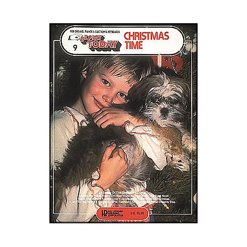 Hal Leonard Christmas Time E-Z Play 9