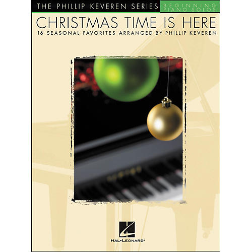 Hal Leonard Christmas Time Is Here Beginning Piano Solos