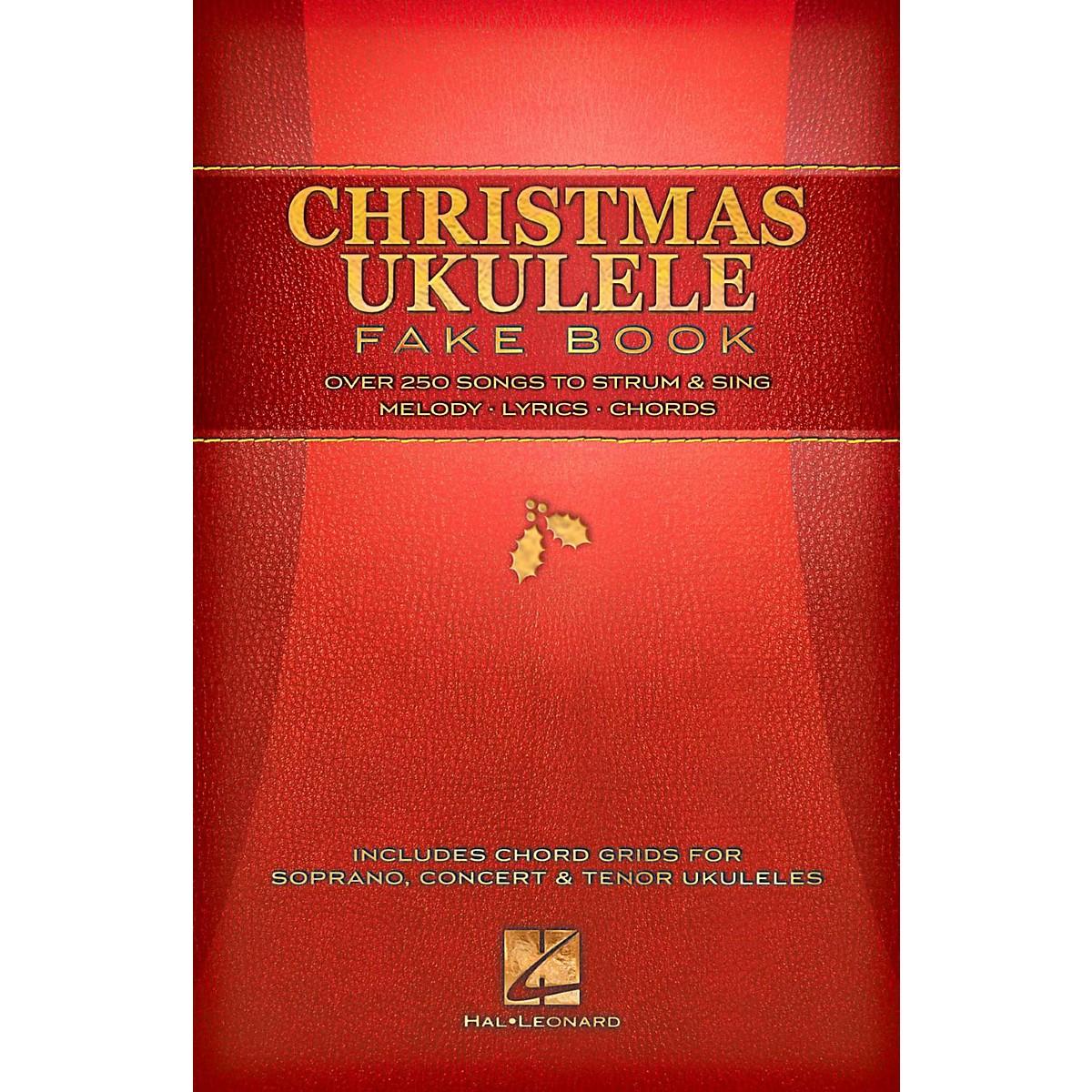 Hal Leonard Christmas Ukulele Fake Book