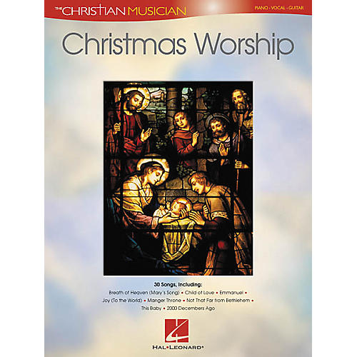 Hal Leonard Christmas Worship Piano, Vocal, Guitar Songbook