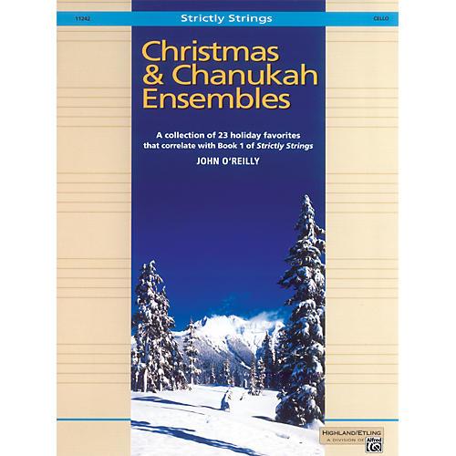 Alfred Christmas and Chanukah Ensembles Cello