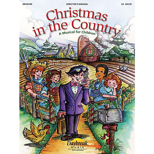 Daybreak Music Christmas in the Country PREV CD Composed by Roger Emerson