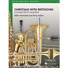 Curnow Music Christmas with Beethoven (Grade 1 - Score Only) Concert Band Level 1 Composed by Mike Hannickel