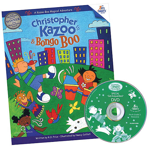 Hal Leonard Christopher Kazoo & Bongo Boo - Get Acquainted Offer (Value-Packed Introduction to Kazoo-Boo)
