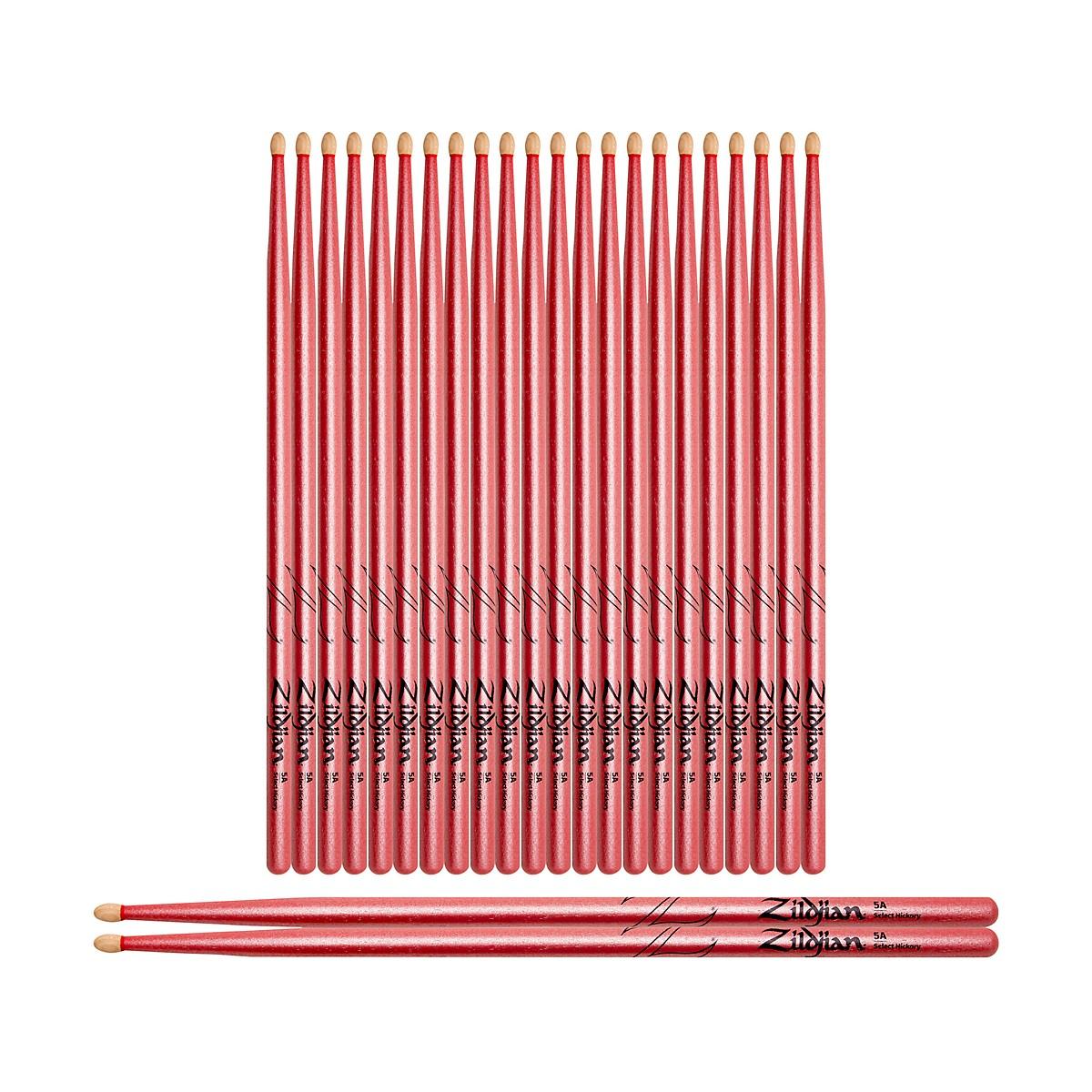 Zildjian Chroma Pink Drum Sticks 12-Pack