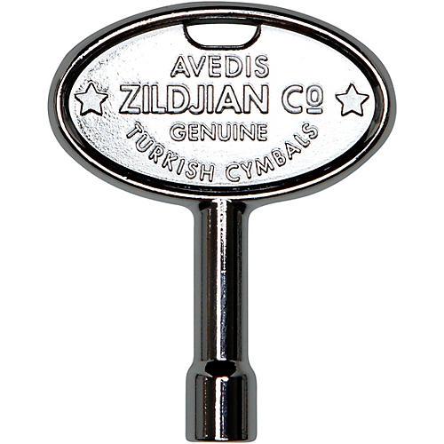 Zildjian Chrome Drum Key with Zildjian Trademark