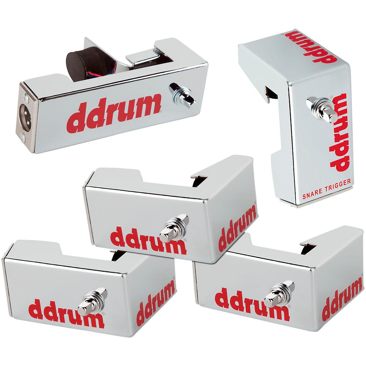 ddrum Chrome Elite Advanced Engineered Drum Triggers - 5-Piece Set