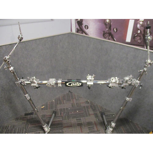 PDP by DW Chrome Plated Drum And Cymbal Rack Package Rack Stand