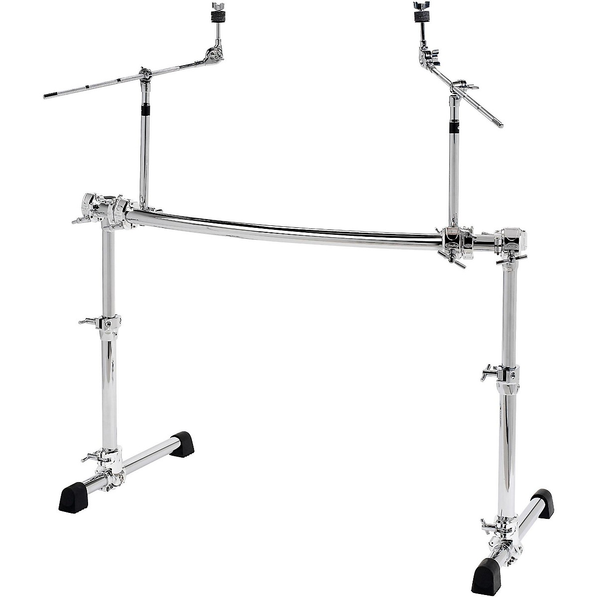 Gibraltar Chrome Series Height Adjustable Curved Rack