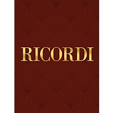 Ricordi Chrysanthemums and 3 Minuets (Score and Parts) String Series Composed by Giacomo Puccini