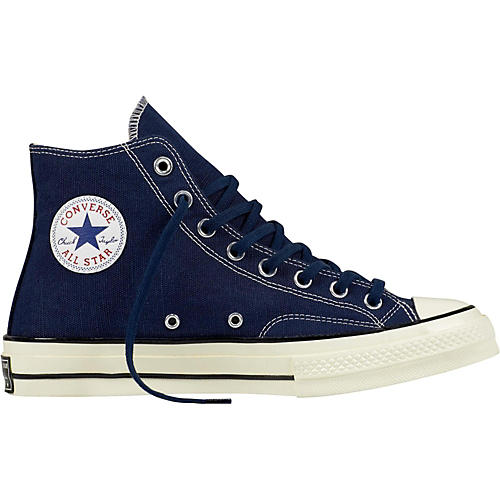 41de7acd386 Converse Chuck Taylor All Star 70 s Hi Top Midnight Navy Black Egret ...