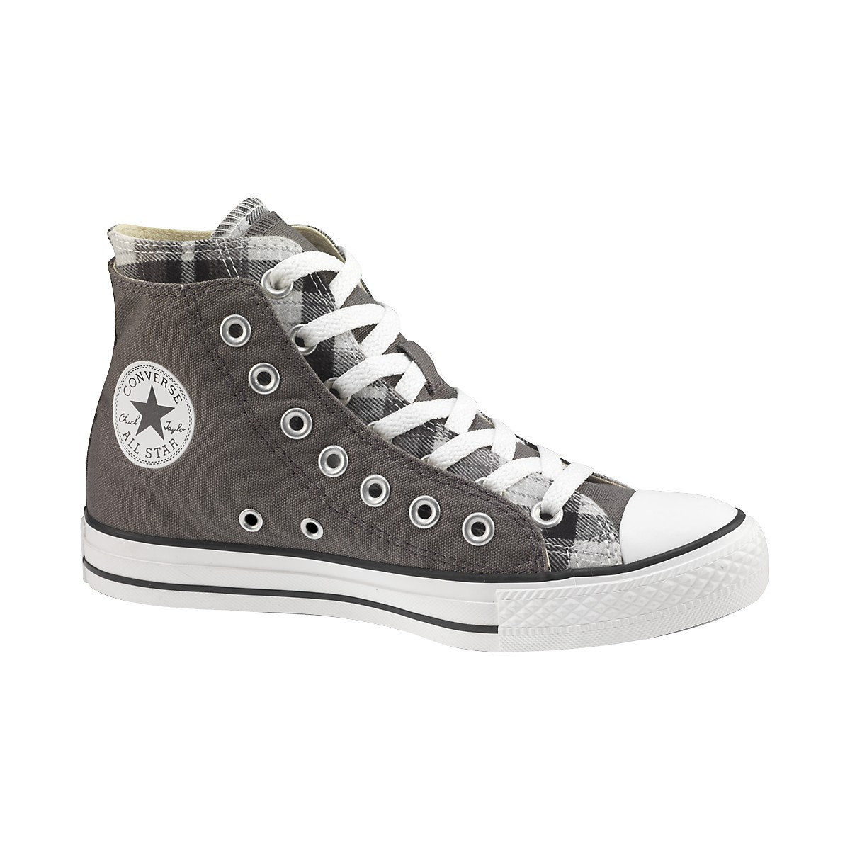 Chuck Taylor All Star High Top Double Upper Plaid Shoes