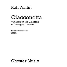 Chester Music Ciacconetta - Variation on the Chiacona of Giuseppe Colombi Music Sales America Series Softcover