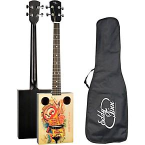 eddy finn cigar box acoustic guitar natural guitar center. Black Bedroom Furniture Sets. Home Design Ideas