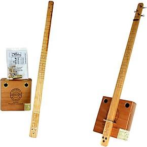 c b gitty cigar box pure simple 3 string slide guitar kit natural guitar center. Black Bedroom Furniture Sets. Home Design Ideas
