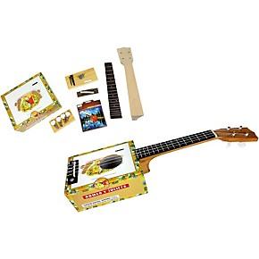 c b gitty cigar box ukulele kit natural guitar center. Black Bedroom Furniture Sets. Home Design Ideas