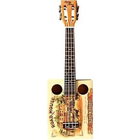 eddy finn cigar box ukulele natural guitar center. Black Bedroom Furniture Sets. Home Design Ideas