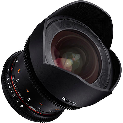 Rokinon Cine DS 14mm T3.1 Ulra Wide Angle Cine Lens for Sony E-Mount