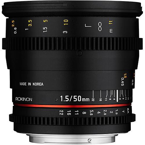 Rokinon Cine DS 50mm T1.5 Cine Lens for Micro Four Thirds