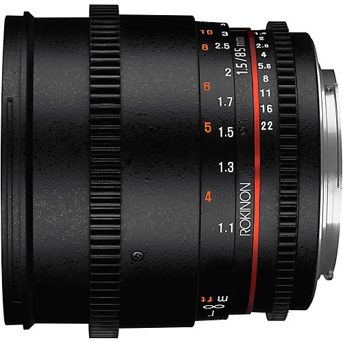 Rokinon Cine DS 85mm T1.5 Cine Lens for Canon EF