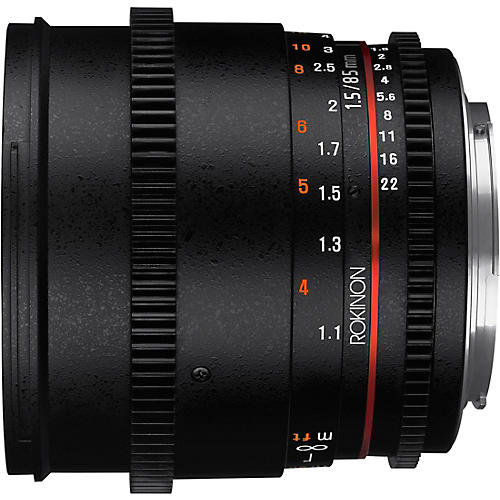 ROKINON Cine DS 85mm T1.5 Cine Lens for Micro Four Thirds