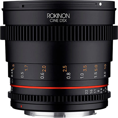 Rokinon Cine DSX 50mm T1.5 Cine Lens for Micro Four Thirds
