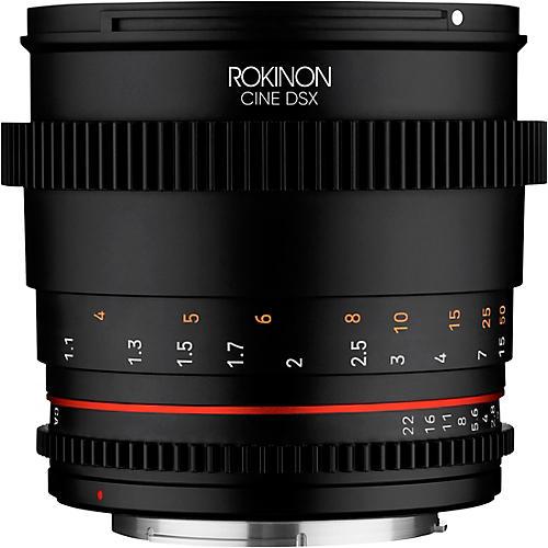 Rokinon Cine DSX 85mm T1.5 Cine Lens for Canon EF