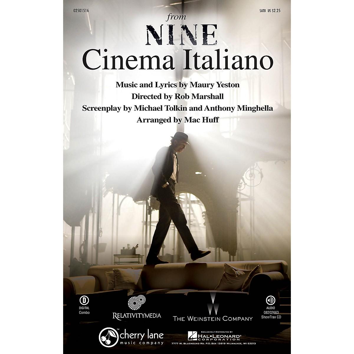 Cherry Lane Cinema Italiano (from Nine) SATB arranged by Mac Huff