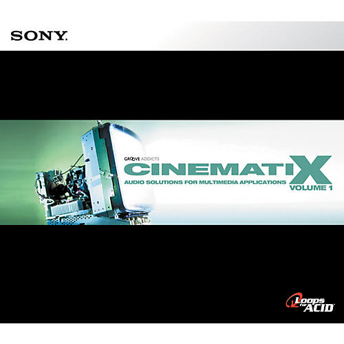 Sony Cinematix: Volume One ACID Loop CD