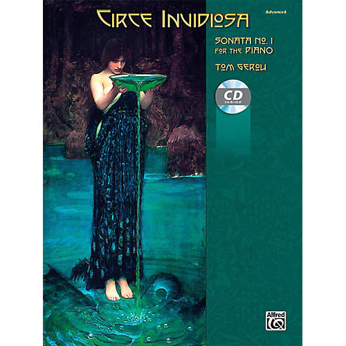 Alfred Circe Invidiosa: Sonata No. 1 for the Piano - Book & CD Advanced