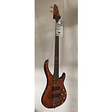 Peavey Cirrus BXP 4 Quilt Tiger Eye Electric Bass Guitar